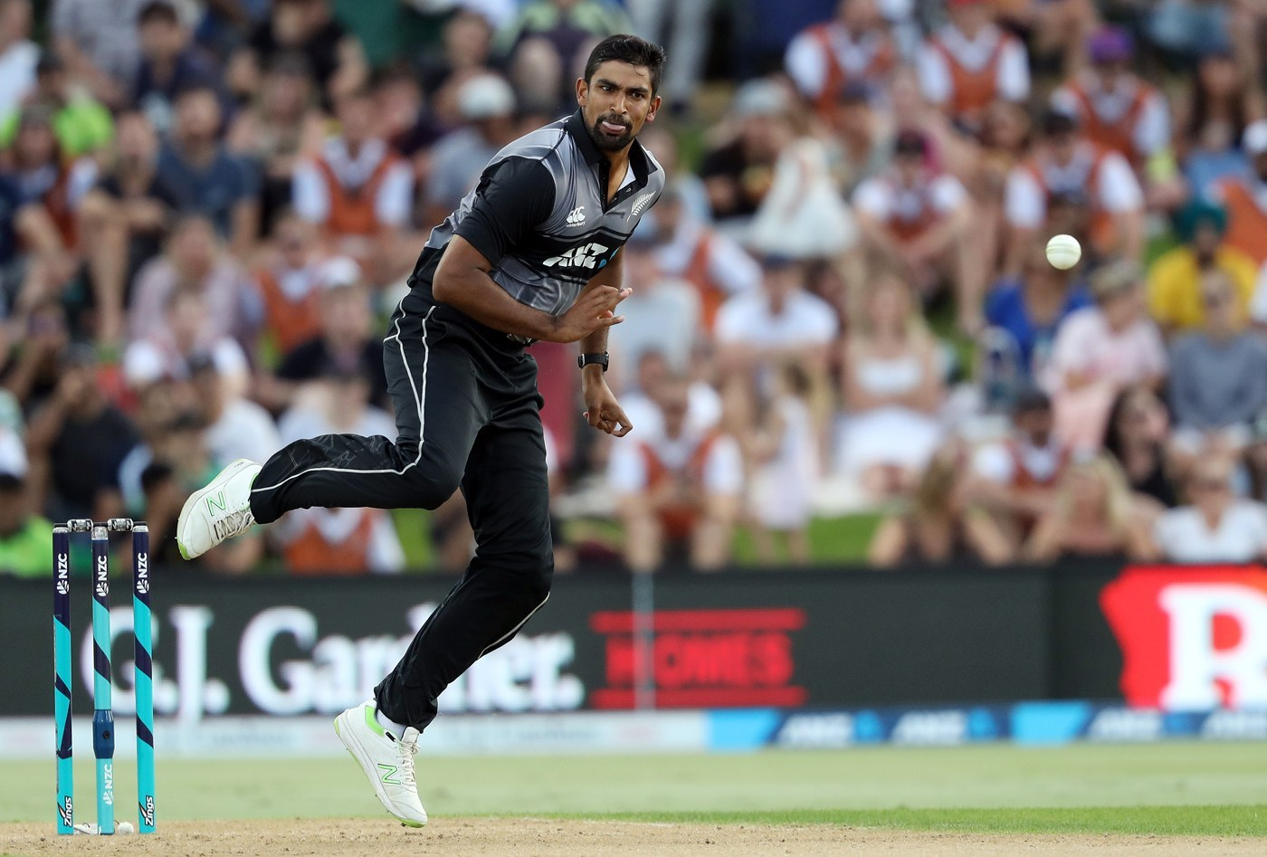 ish sodhi bowling new zealand