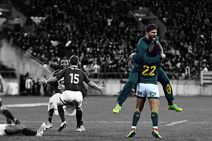 SPRINGBOKS VICTORIES V ALL BLACKS RANKED