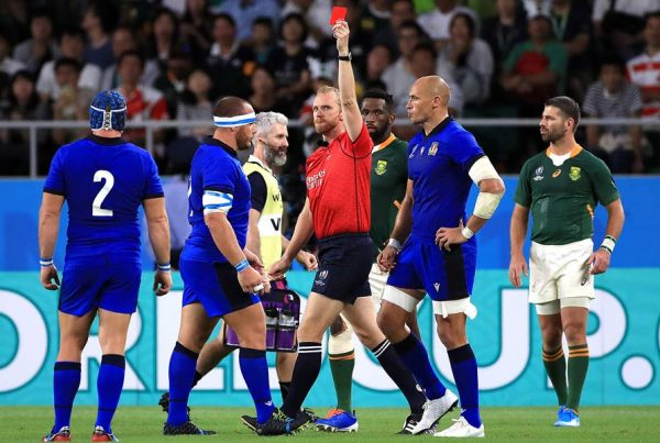 RWC 2019: Red and Yellow Records