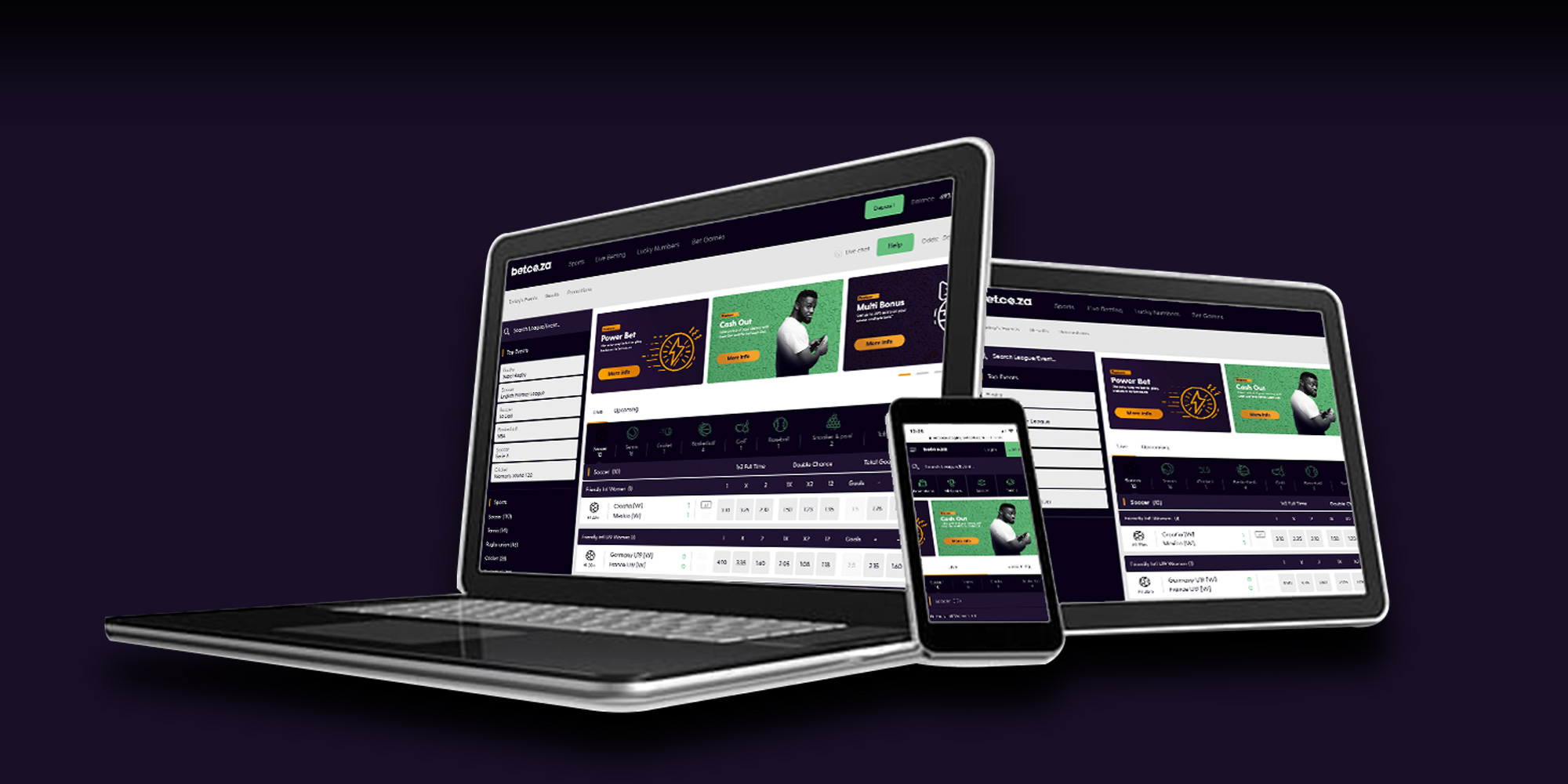 Bet.co.za relaunch – Important info