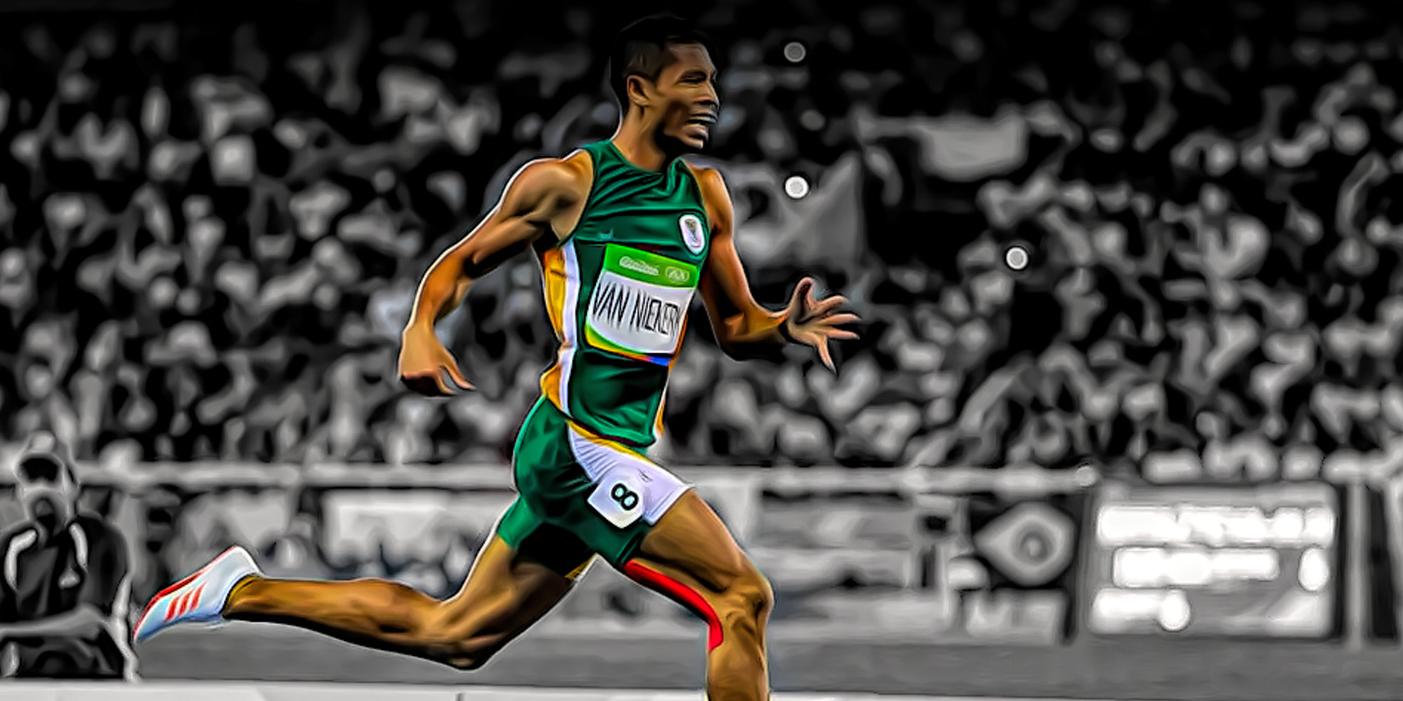 GOLD!!! South Africa at the Olympics